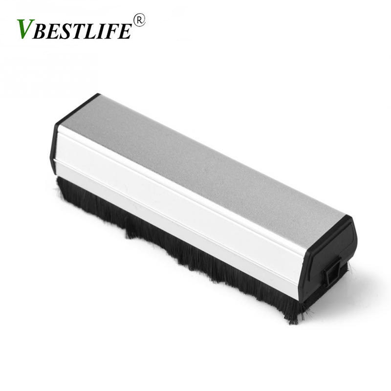 VBESTLIFE Portable vinyl record player cleaning brush Antistatic Dust Spots Cleaner for lp records vinyl