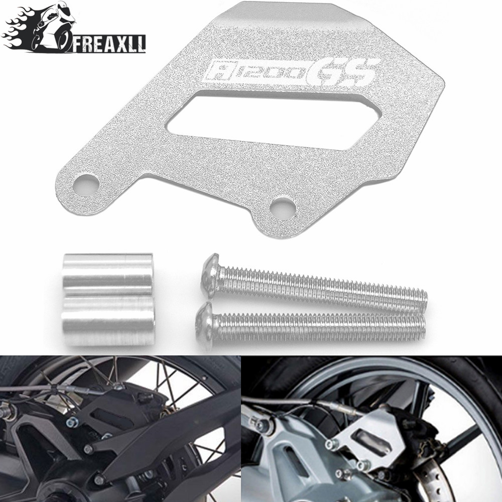 Motorbike Motorcycle <font><b>Accessories</b></font> Rear Brake Caliper Cover Guard protector For <font><b>BMW</b></font> <font><b>R1200GS</b></font> <font><b>LC</b></font> <font><b>ADV</b></font> R1200 GS <font><b>LC</b></font> <font><b>ADV</b></font> 2013 2014 -2016 image