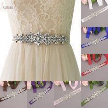 Свадебные ремни с кристаллами аксессуары для женщин Свадебное
