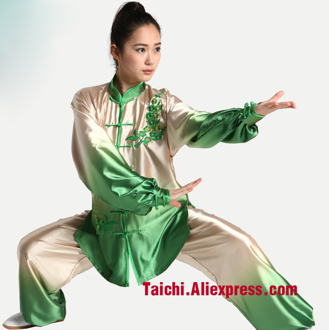 Female Embroidery  Tai Chi Uniform, Kung Fu,martial Art Suit  Chinese Stly Clothes