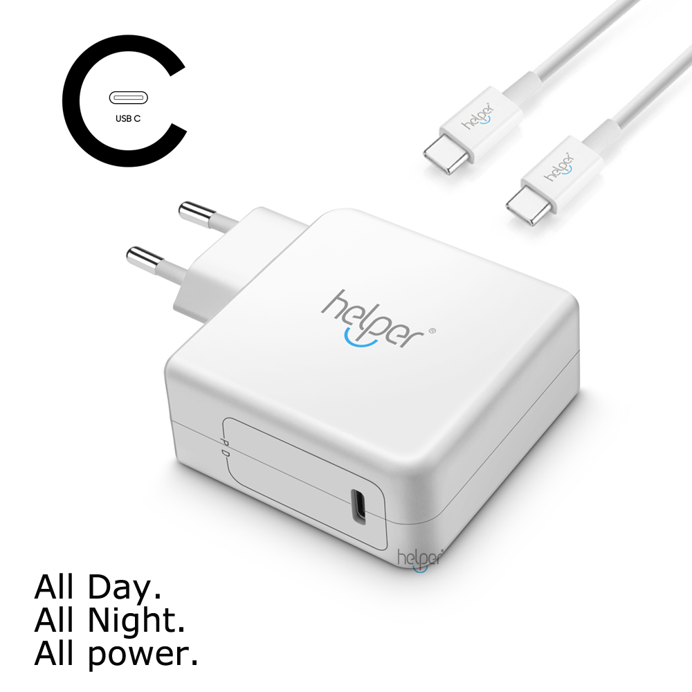 USB Type C PD Wall Charger Fast Charging Power Adapter for NEW Macbook Pro DELL XPS Latitude Matebook Mi air One plus ZenBook usb c charger power delivery qc 3 0 type c pd 3 port fast charger for new macbook samsung hp dell acer asus l