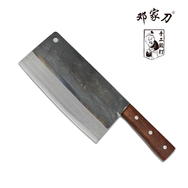 Traditional carbon steel cookware knives for cutting chop bone cutting knife chef knife knives Chinese style
