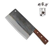 Traditionellen kohlenstoffstahl kochgeschirr messer für schneiden/hacken knochenmesser/schneidmesser + kochmesser/messer, chinesischen stil