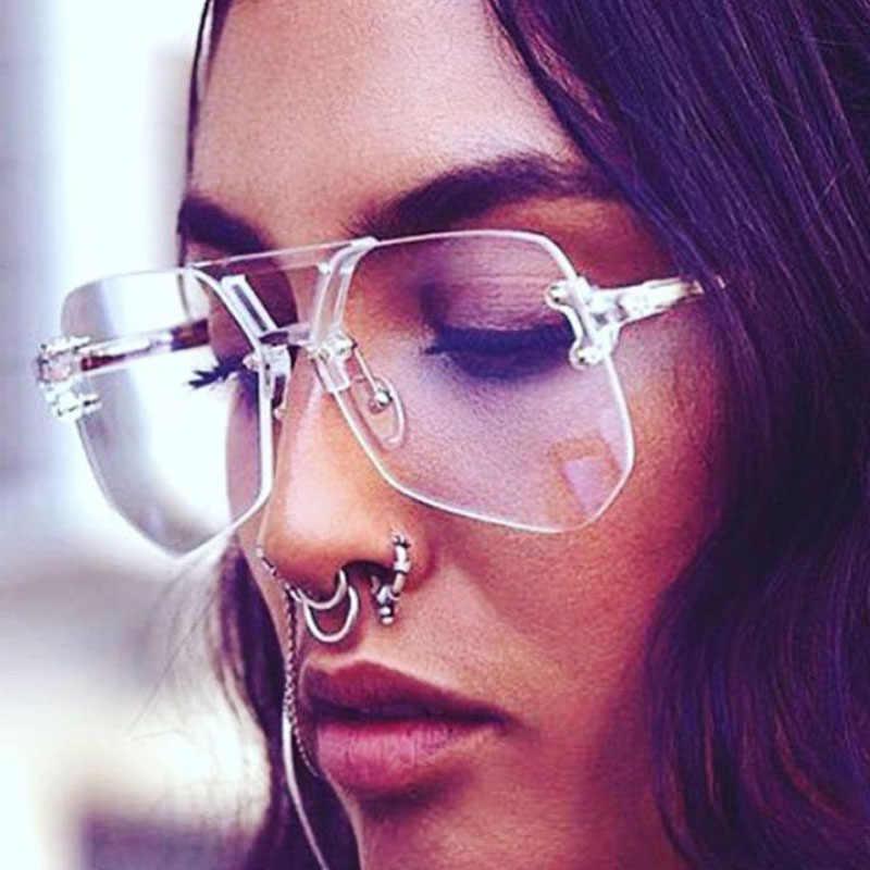 ad7fe7ee74a3 ... 2017 New Brand Clear Eyeglasses Frame Men Big Optical Glasses Women  Computer Glasses Frame Business Men ...