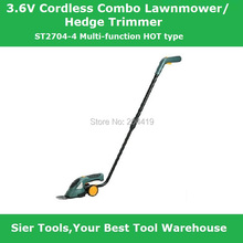 Buy ST2704-4 3.6V electric 2in1 grass mower/hedge trimmer lawnmower/Sier cordless