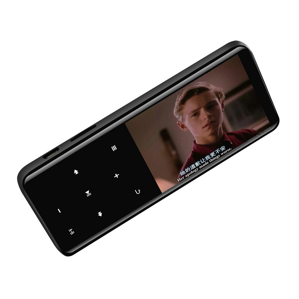 Vandlion <font><b>MP4</b></font> Player With Bluetooth Lecteur MP3 <font><b>MP4</b></font> Music Player Portable Media Slim 2.4 inch Touch Keys Fm Radio Video HIFI 16GB image