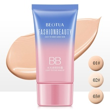 1PC BB cream Face Care Foundation Base BB CC Cream Makeup Brightening Concealer Primer Cream Whitening Concealer Cosmetics makeup liquid bb cream face care moisturizing foundation base bb cc cream makeup brightening concealer cream whitening concealer bb glow primer makeup highlighter