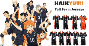 Image 4 - Cute Unicorn Haikyuu No.4 Nishinoya Yuu Jersey Unisex T shirt Karasuno High School Club Cosplay Costume anime Uniform