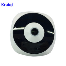 Kruiqi 1080P IP Camera Wi-fi Two Way Intercom Infrared 360 Degree Fisheye Indoor 2MP Wifi Camera Video Surveillance CCTV Camera(China)