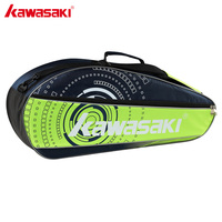 Kawasaki Single Shoulder Tennis Badminton Racket Bag Men Women Sport Bags For 3 Rackets Badminton Bags