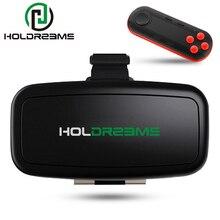 HOLDREAMS H1 3D VR Очки Виртуальной Реальности Гарнитура Погружения IMAX Частный Театр Игра Видео Коробка для 4-5.5 дюймов телефон + Геймпад 6.0