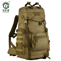 men's women's camouflage bag 50 l travel backpack travel bag Large capacity shoulders high grade wearproof bag