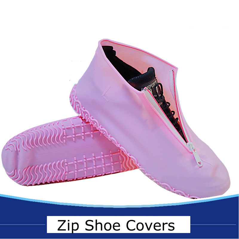 Gorgse Waterproof Shoes Cover Non-Slip Kids Rain Cover for Shoes Elastic Reusable Rain Boots