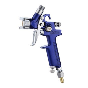 цена на New 0.8mm/1.0mm Nozzle H-2000 Professional HVLP Spray Gun Mini Sprayer Paint Spray Guns Airbrush for Painting Car Aerograph