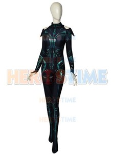 Image 4 - Thor Ragnarok Cosplay Hela, disfraz de superhéroe Zentai para fiesta de Halloween, Mono para adultos con capa, hecho a medida