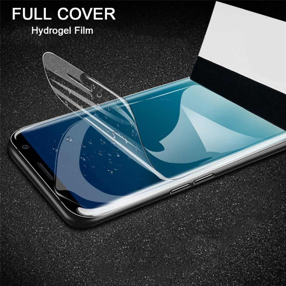 Soft TPU Hydrogel Film For Samsung A40 A9 A8 A6 Plus A7 2018 J2 Core J7 J5 Prime J4 J6 J8 2018 Full Cover Screen Protective Film
