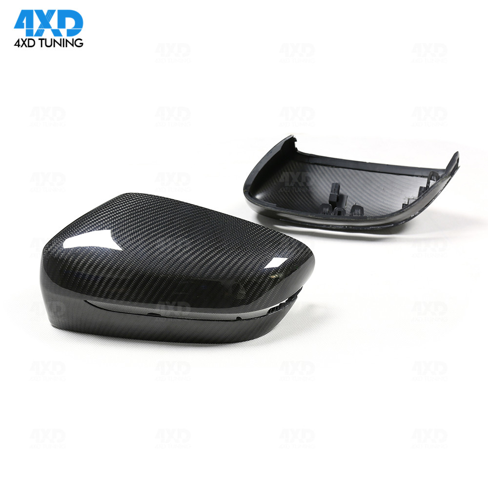 G11 G12 Dry Carbon Mirror Cover For <font><b>BMW</b></font> <font><b>G30</b></font> <font><b>530i</b></font> 540i G32 Carbon Side RearView Mirror Cover caps glossy LHD Only 2017 2018 2019 image