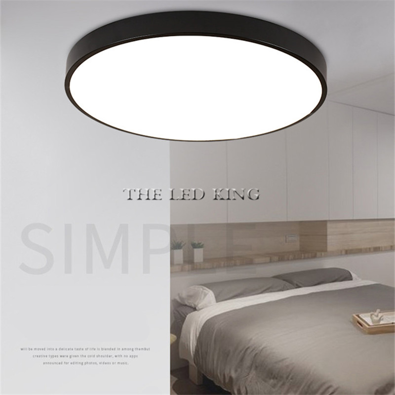 Ceiling Lights & Fans Painstaking Led Ceiling Light Lamp Modern Lighting Fixture Bedroom Kitchen Foyer Simple Surface Mount Flush Panel Living Room Remote Control Aromatic Flavor
