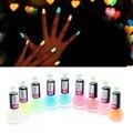 9 colores del caramelo luminoso barniz de Laca de uñas esmalte de uñas de neón fluorescente nail polish art glow in the dark Y3