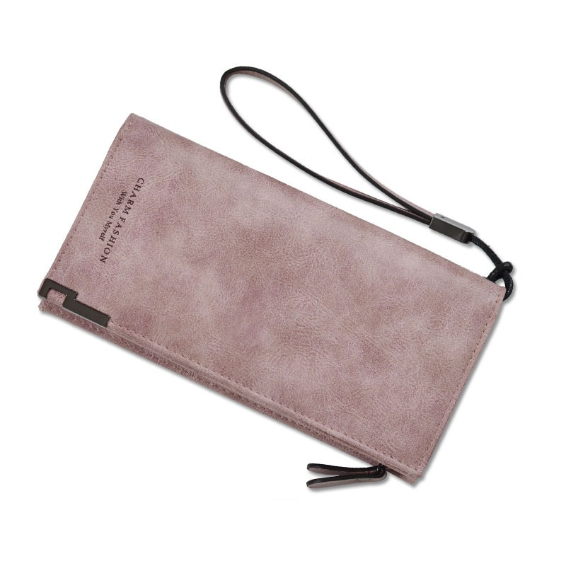 2018 New High Capacity Fashion Women Long Wallet PU Leather Wallet Clutch Coin Purse Ladies Photo Bit Card Holder Dropshipping
