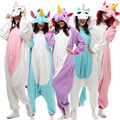 Caliente/moda unixes unicornio anime pijamas kigurumi pijamas animal cosplay fancy dress cos 03