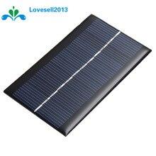 Mini 6V 1W Solar Panel Bank Solar Power Panel Module DIY Power For Light Battery Cell