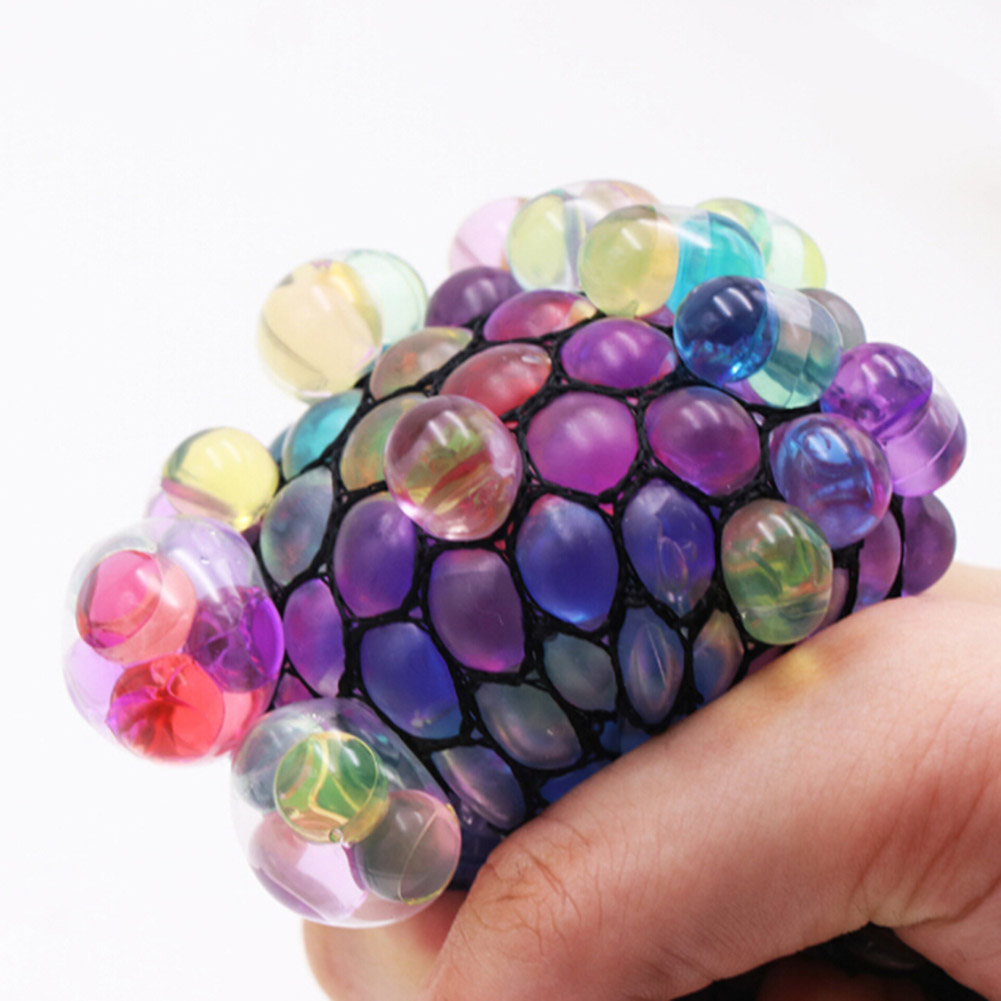 Funny Toys Anti Stress Face Reliever Grape Ball Autism Mood Squeeze Relief Healthy Toys Fun Halloween Jokes ...