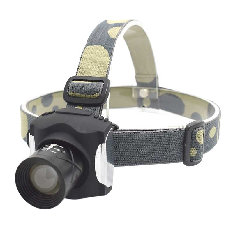 Built-in Battery Headlight Rechargeable Headlamp Waterproof Zoomable 3Mode XML T6 Bright Head Flashlight Head Torch with Charger 18000lm 15x xml t6 led rechargeable flashlight torch handlamp headlight 4x18650 battery charger