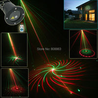New Version RG Outdoor Waterproof 12 Patterns Laser Projector Landscape Light Club Party Christmas Tree Garden