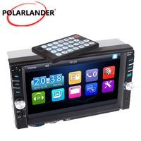Steering wheel control 2 Din car radio 7 inch car radio With rear camera MP4 MP5 video Player Bluetooth