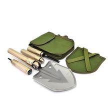 Multifunctional Folding Garden Camping Shovel Military Multitool Knife Survival Outdoor DIY Hand Tools Pelle Pliante