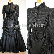 Индивидуальные винтажные костюмы 1860 s, бальное платье Южной Белль, готическое платье лолиты, викторианские платья для суеты