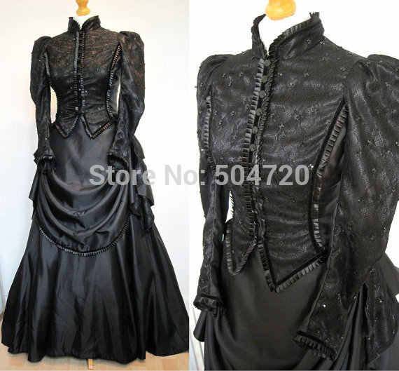 ef658124af3 Detail Feedback Questions about Customized Vintage Costumes 1860s Civil War  Southern Belle Ball Gown Dress Gothic Lolita Dress Victorian Bustle dresses  on ...