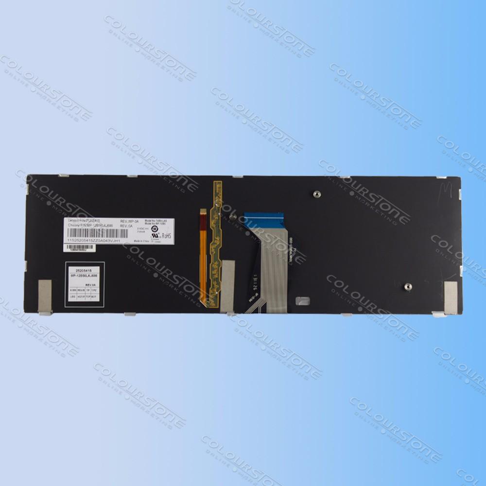 LA laptop keyboard for Lenovo Ideapad Y500 Y500N Y500NT Y500S Y510 Y510P Y590 Y590N Backlit Teclado Keyboard 25205415 MP-12B56LAJ686  (6)