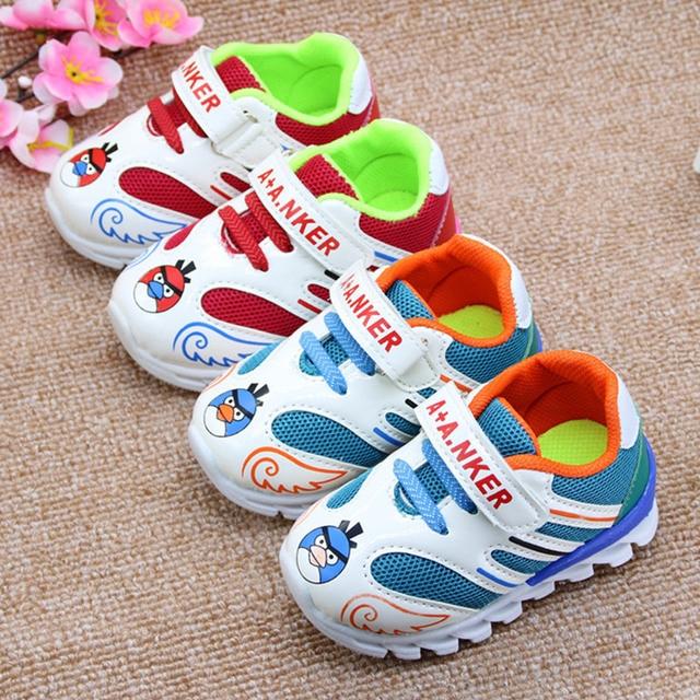 13cm-15cm Spring Sport Walking Running Shoes Kids Sneakers Boys Girls Air Mesh Sport Shoes Chaussure De Foot China Shop Online