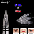 Top 5RL Permanent Makeup needles Eyebrow Lip Needles CHARMANT Digital Permanent Make-up Device For Tattoo Needles Free Shipping