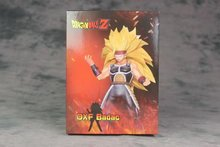 Japan Anime Dragon Ball Z DBZ DXF Super Saiyan Burdock WU Geeta Battle Fighting Ver Model Collection Figure Toys