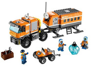 BELA 10440 394Pcs City Polar Adventure Arctic Outpost Policemen Model Building Blocks Toys For Children Compatible with Lme цена