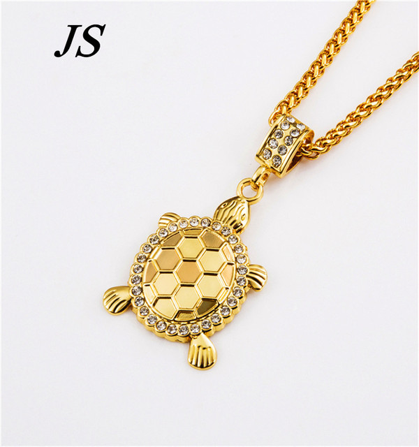 Js charm real 24k gold plated turtle pendant necklace designer js charm real 24k gold plated turtle pendant necklace designer fashion cute golden tortoise jewelry decoration aloadofball Image collections