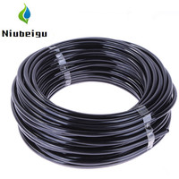 20meter/pack 1/4inch Watering Tubing PVC Hose Pipe 4/7mm Micro Dripper System Drip Irrigation Pipe Sprinkler Fittings Hose