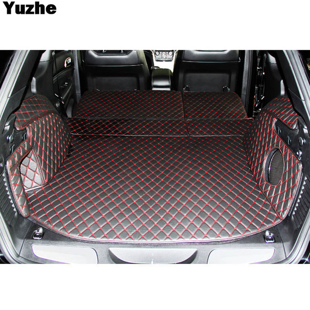 Yuzhe Custom Car Trunk Mat For Jeep Grand Cherokee 2007 2017 2010 Cargo Liner Interior Accessories Carpet Styling
