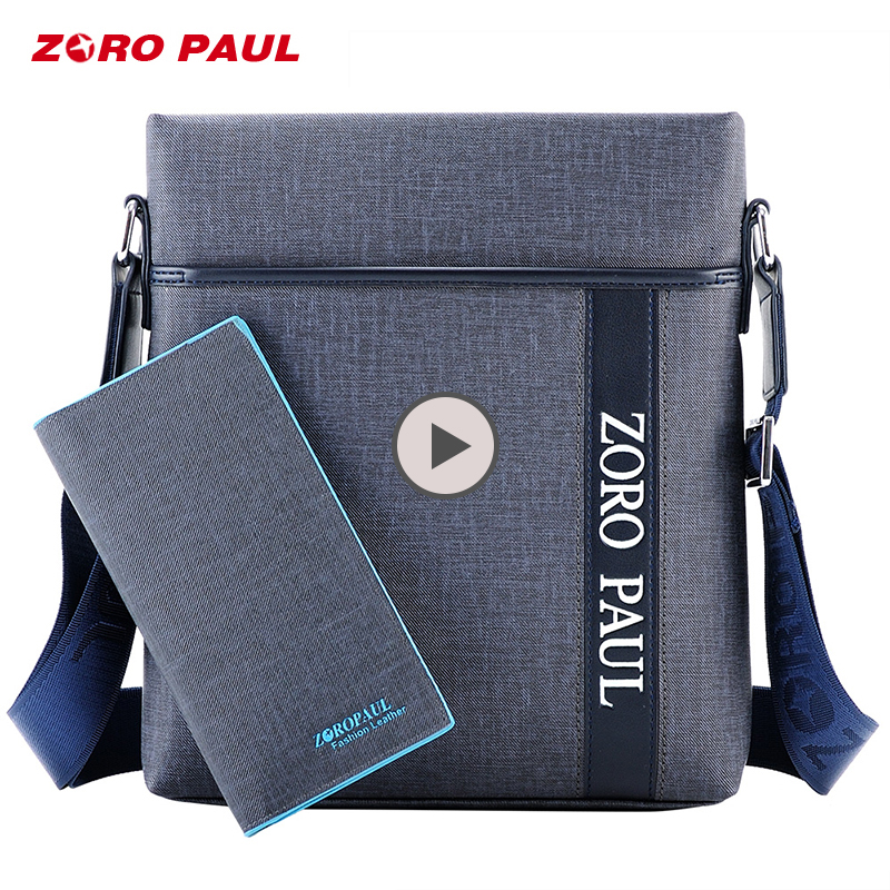 ZORO PAUL Business Messenger Bag Men PU Leather Casual Man Bag Male Waterproof Shoulder Crossbody Bags for Men Satchels atorch electronic multimeter digital clamp meter dc ac voltage current tongs resistance amp ohm tester medidor multimetre tools