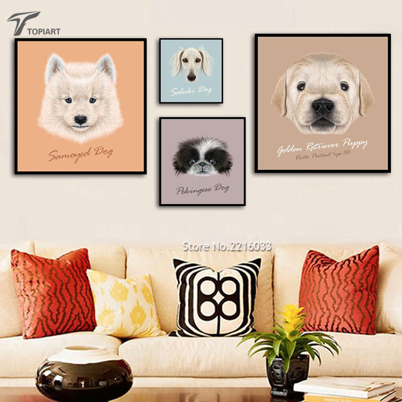 Popular animated puppy pictures buy cheap animated puppy for Dog decorations for home