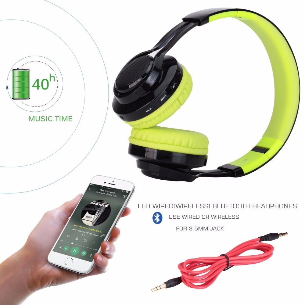 Wireless Bluetooth headphone AB005 for Sports headset for Media music headband mp3 PC wire bluetooth headphones with microphones