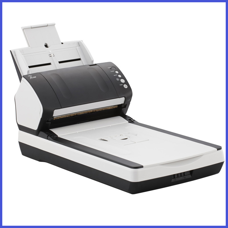 brand new double platform fi 7240 document scanner adf With a4 scanner with document feeder