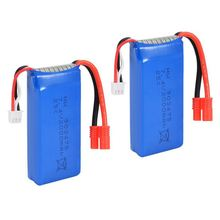 цена на 2PCS 7.4V 25C 2000mAh R Plug Battery for Syma X8C X8W X8G Drone Quadcopter