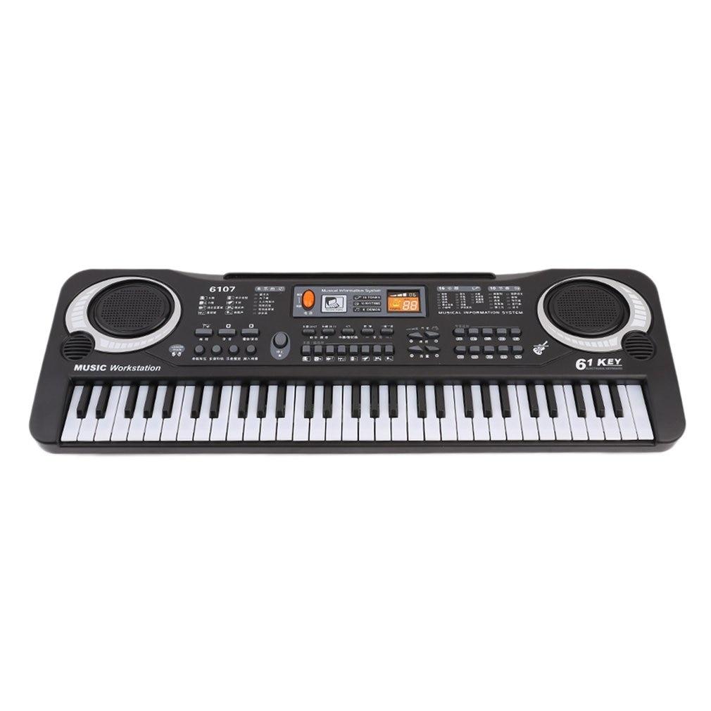Novo instrumento musical brinquedo multifunction 61 teclas