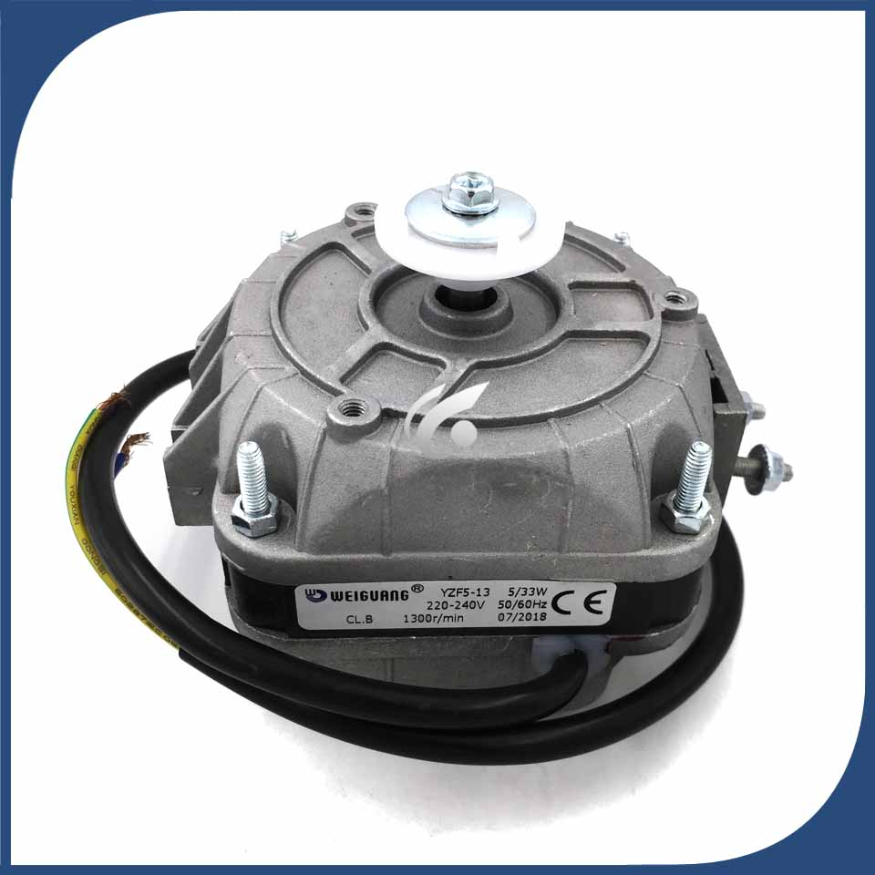 new Good working for refrigerator ventilation fan motor YZF 5-13 33W reverse rotary motor new good working for refrigerator ventilation fan motor dla5985hacc 0064000945 bcd 628wabv reverse rotary motor