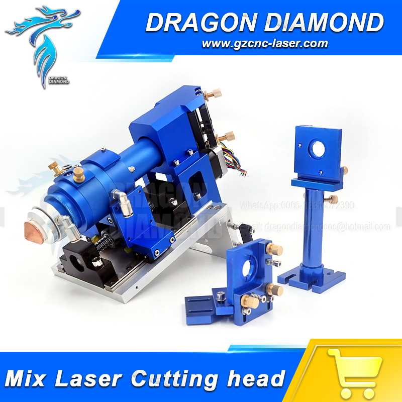 Non-metal and metal Mixed Cut head 500W Mixture Laser Cutting Head for CO2 Laser Cutting Machine co2 laser burner for laser cut head