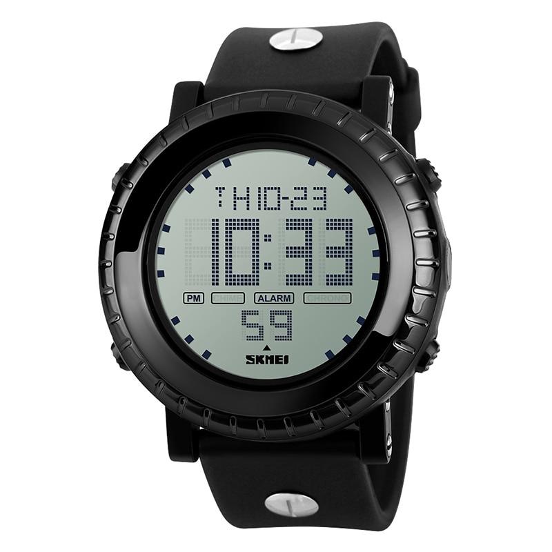 New Sports Watch Men Digital LED Waterproof Backlight Chrono Alarm Role SKMEI Watch Men Fashion Relogio